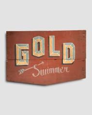 Gold Swimmer
